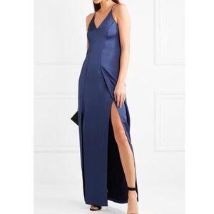 NWT Halston Heritage satin slip gown